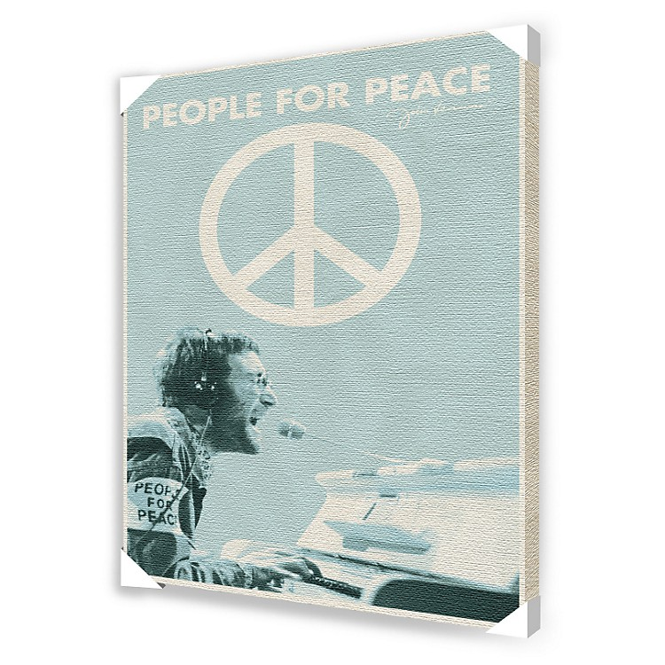 Ace Framing John Lennon People for Peace Canvas Poster
