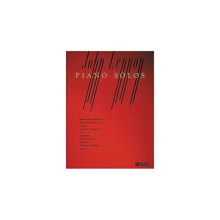 Hal LeonardJohn Lennon Piano Solos