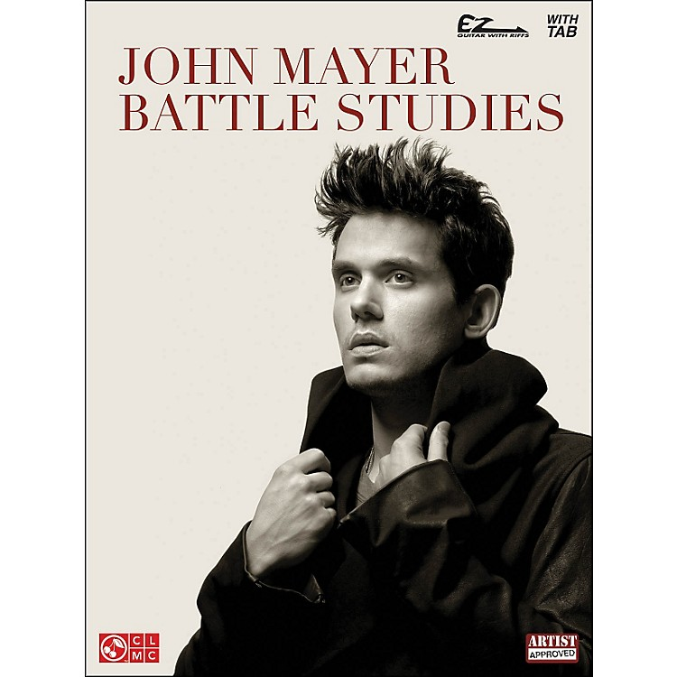 Cherry Lane John Mayer - Battle Studies Easy Guitar Songbook