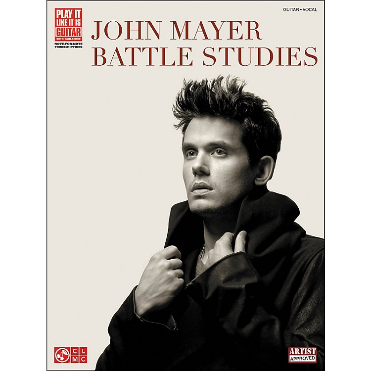 Cherry Lane John Mayer - Battle Studies Tab Book