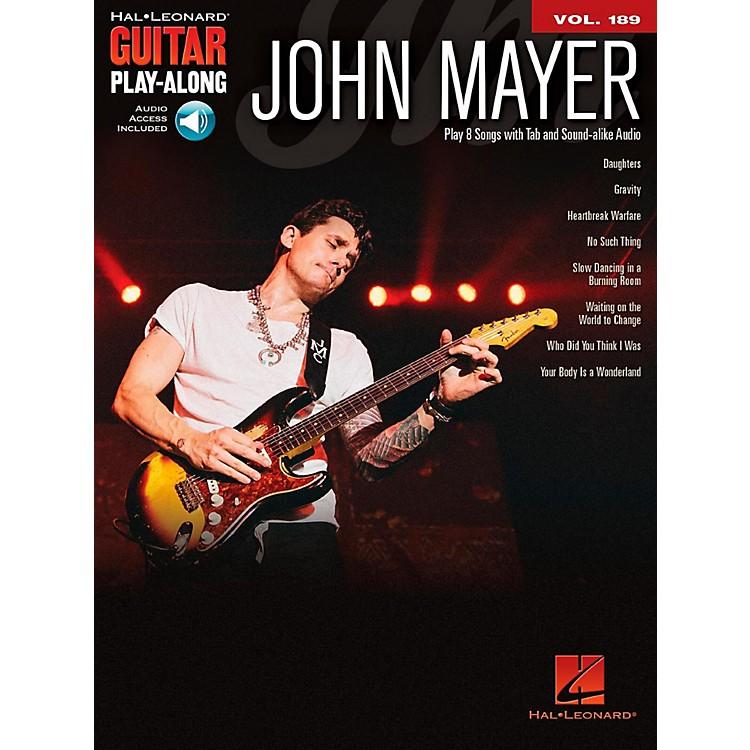 Hal LeonardJohn Mayer - Guitar Play-Along Vol. 189 Book/Audio Online