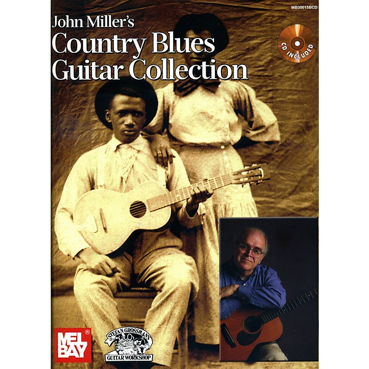 Mel Bay John Miller's Country Blues Guitar Collection Book/CD Set