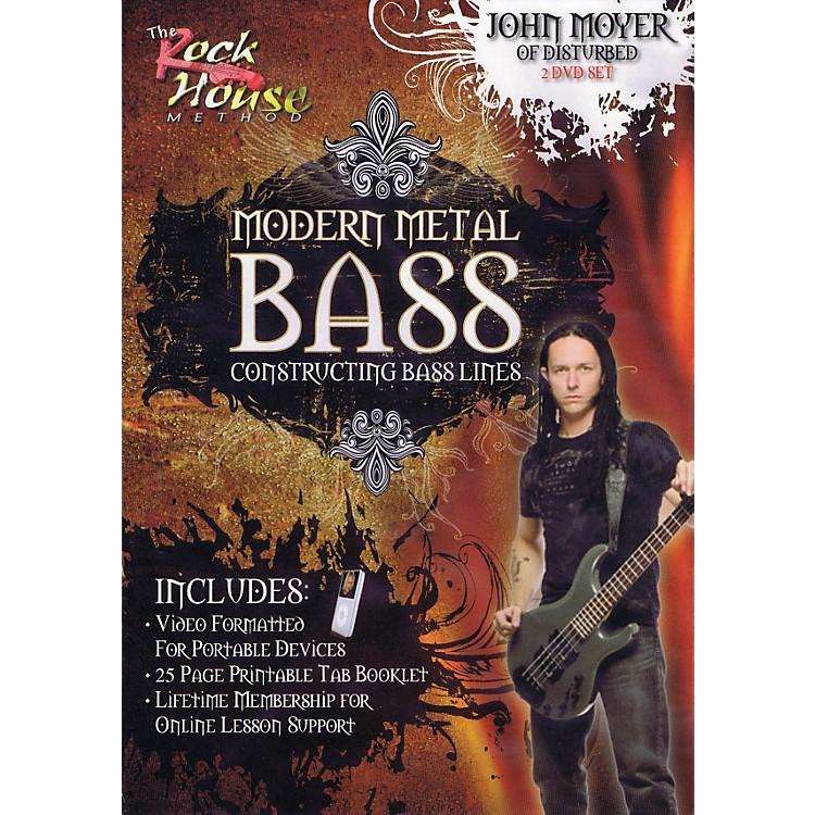 Rock HouseJohn Moyer Of Disturbed - Modern Metal Bass (Constructing Bass Lines) DVD