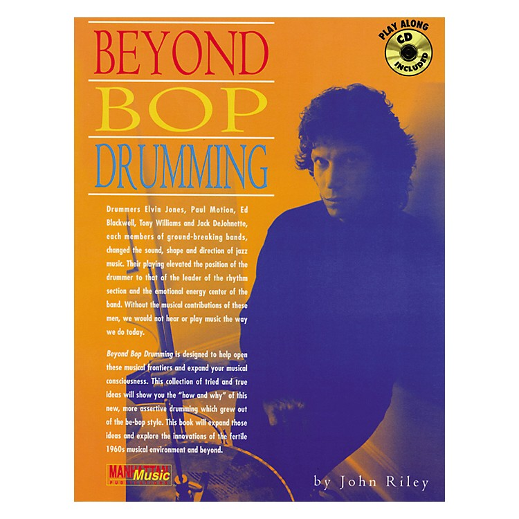 AlfredJohn Riley Beyond Bop Drumming (Book/CD)