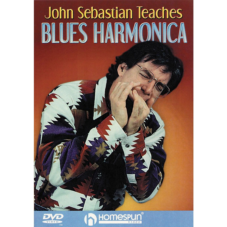 Homespun John Sebastian Teaches Blues Harmonica (DVD)