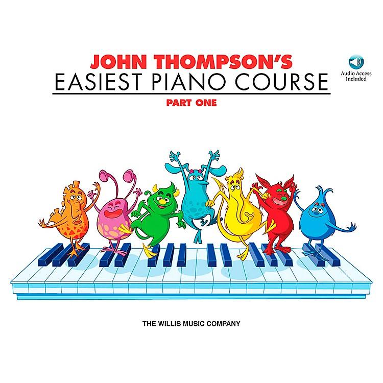 Willis MusicJohn Thompson's Easiest Piano Course Part 1 Book/CD