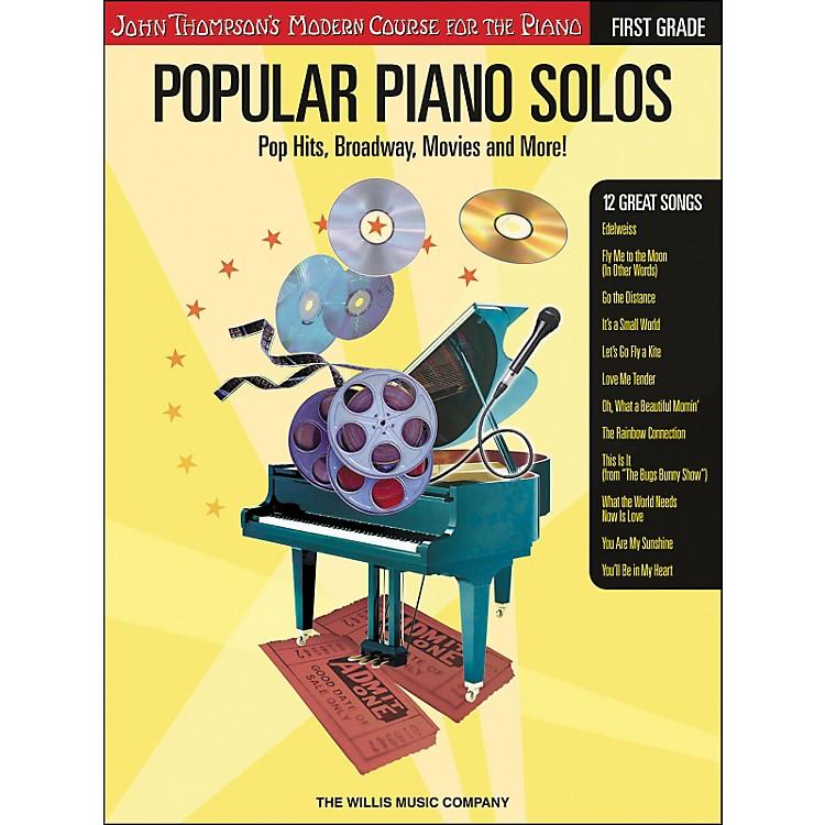 Willis MusicJohn Thompson's Modern Course for Piano - Popular Piano Solos First Grade