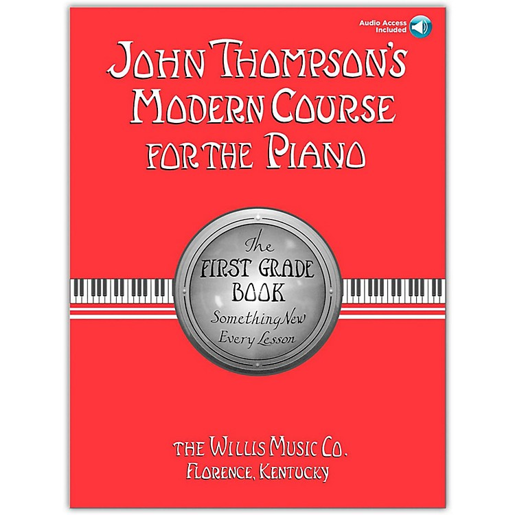 Willis Music John Thompson's Modern Course for The Piano Grade 1 Book/CD