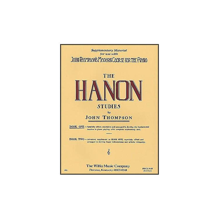 Willis MusicJohn Thompson's Modern Course for The Piano Hanon Studies Book One