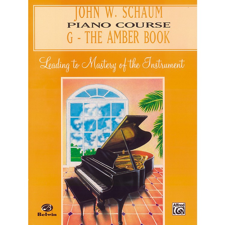 Alfred John W. Schaum Piano Course G The Amber Book