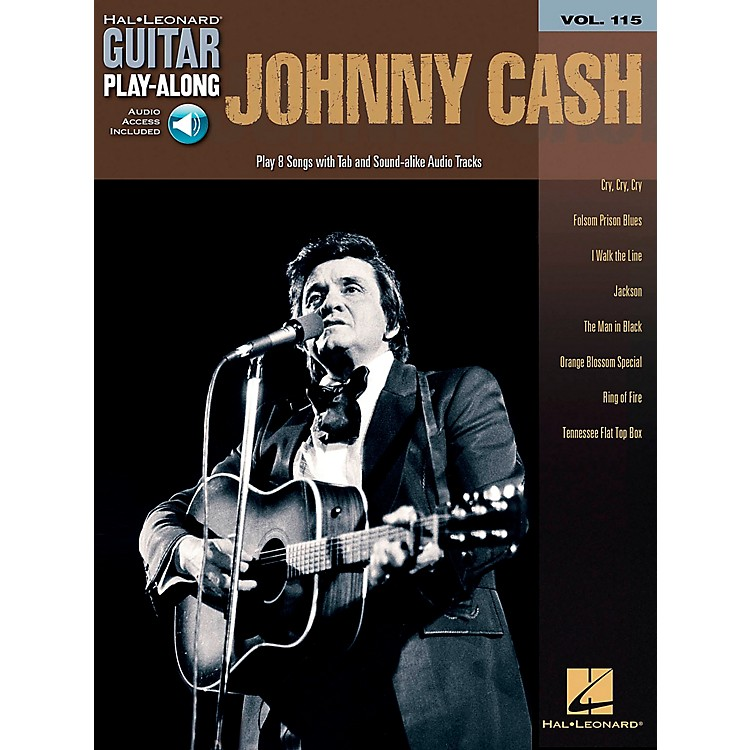 Hal Leonard Johnny Cash - Guitar Play-Along Volume 115 (Book/CD)