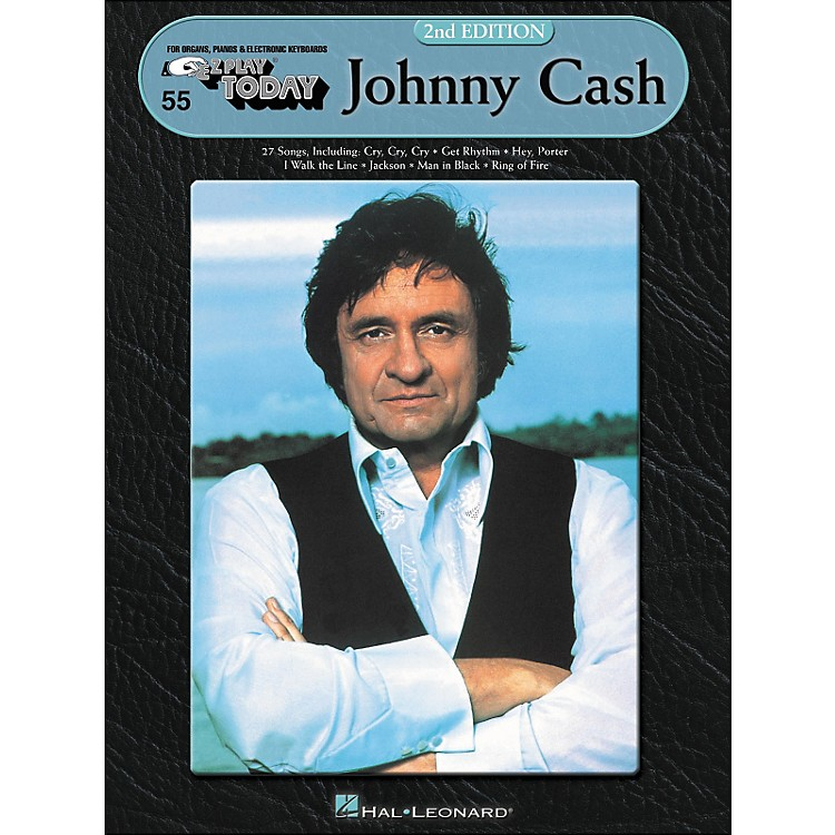Hal Leonard Johnny Cash 2nd Edition E-Z Play 55