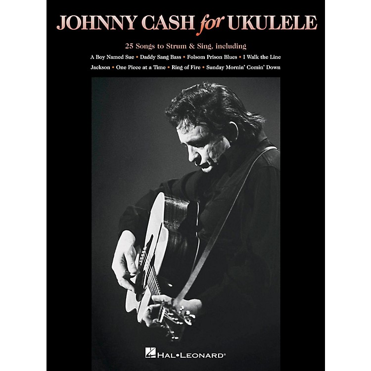 Hal LeonardJohnny Cash For Ukulele