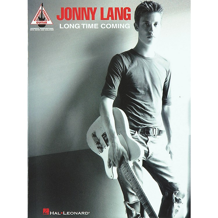 Hal Leonard Jonny Lang Long Time Coming Guitar Tab Songbook