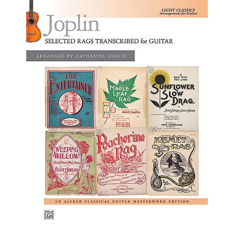 AlfredJoplin: Selected Rags Transcribed for Guitar - Book Intermediate