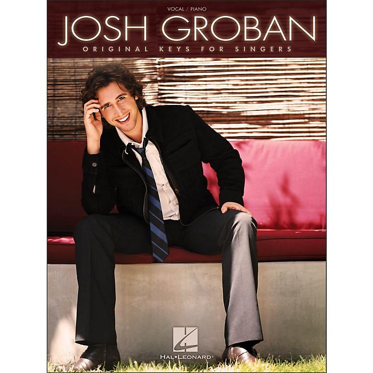 Hal LeonardJosh Groban - Original Keys for Singers