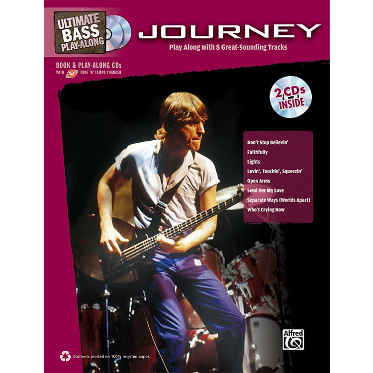 AlfredJourney - Ultimate Bass Play-Along Book & 2 CDs