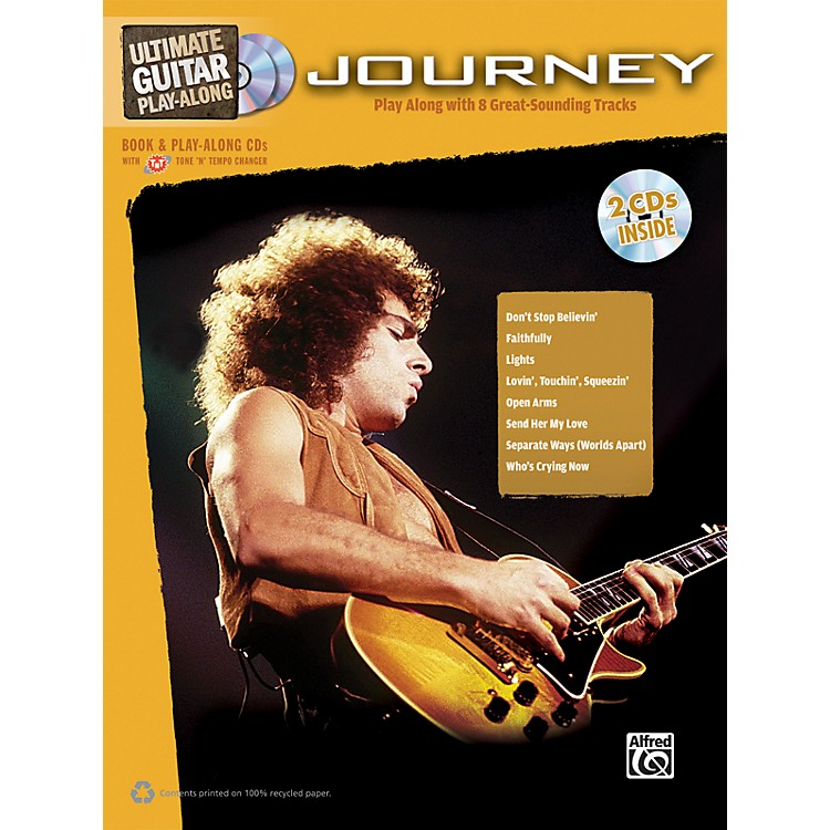 AlfredJourney - Ultimate Guitar Play-Along Book & 2 CDs