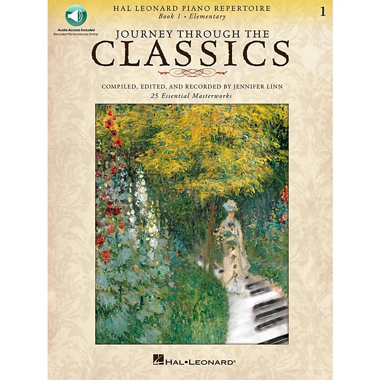 Hal Leonard Journey Through The Classics - Book 1 Elementary Book/Online Audio