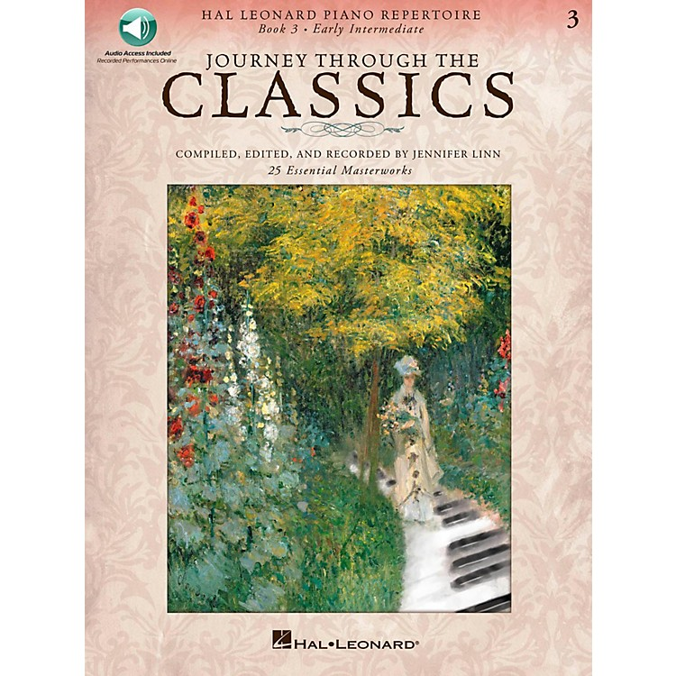 Hal Leonard Journey Through The Classics - Book 3 Early Intermediate Book/Online Audio