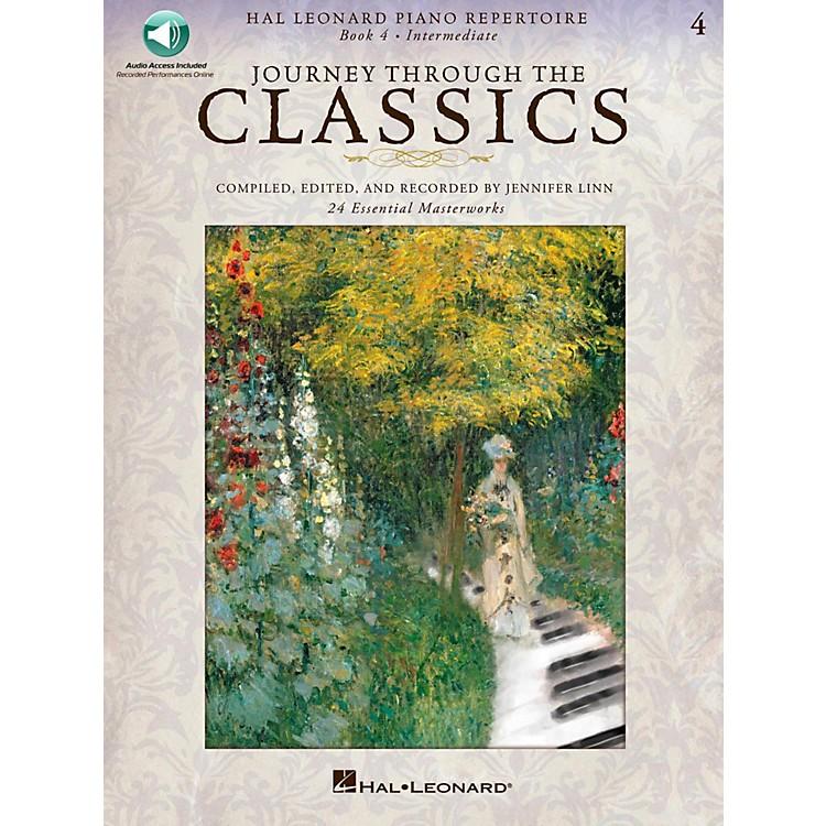 Hal LeonardJourney Through The Classics - Book 4 Intermediate Book/Online Audio