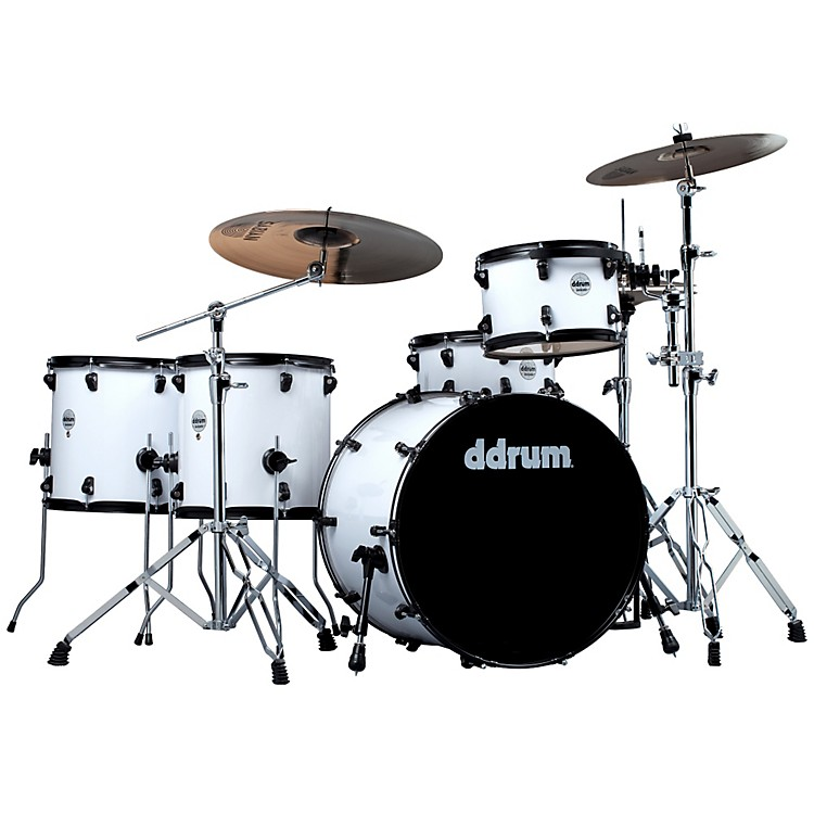 ddrumJourneyman Rambler 5-Piece Drum KitWhite