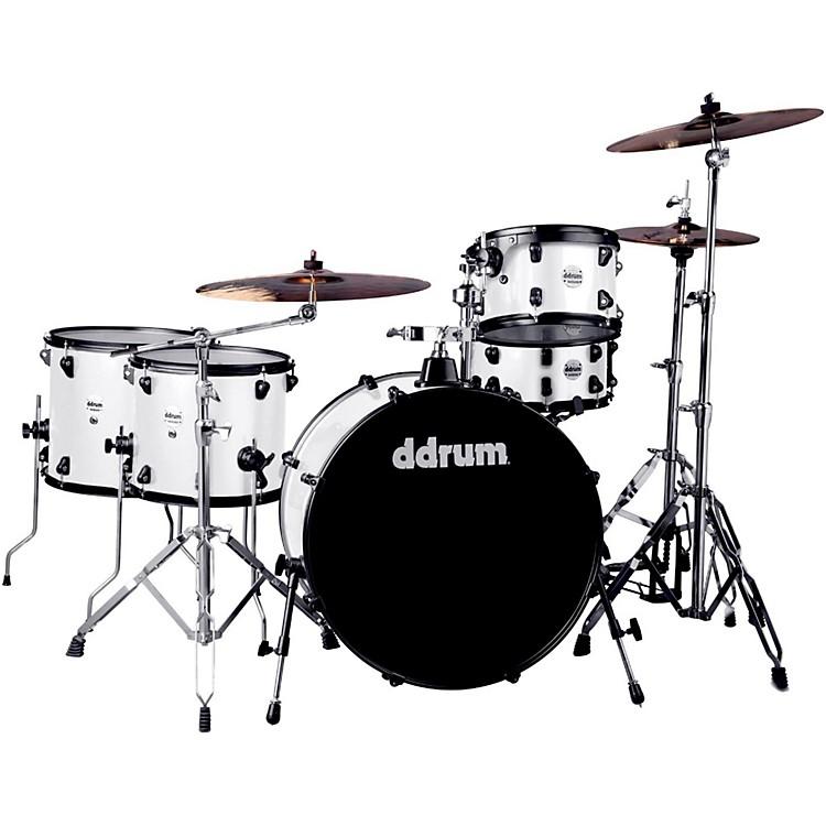 DdrumJourneyman2 Series Rambler 5-piece Drum Kit with 24 in. Bass DrumWhite