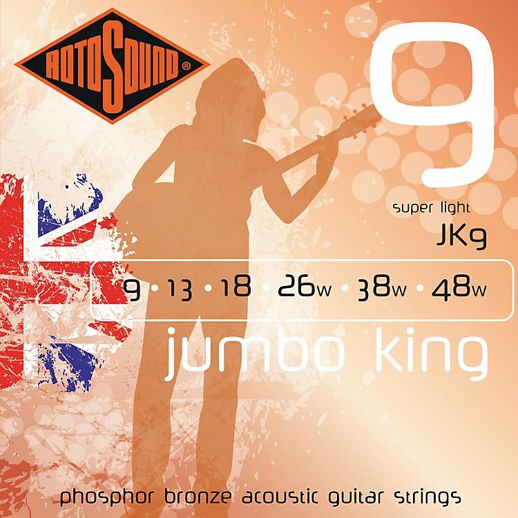 RotosoundJumbo King Super Light Phosphor Bronze Acoustic Guitar Strings