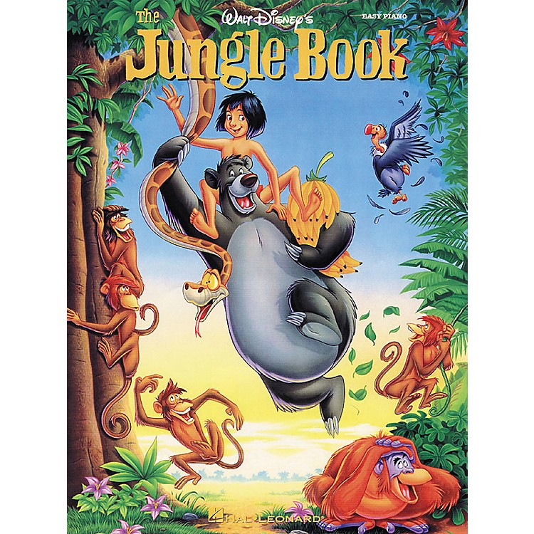 Hal Leonard Jungle Book From Walt Disney For Easy Piano