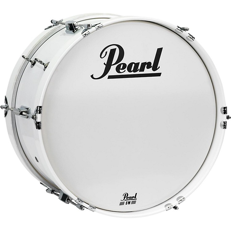 PearlJunior Marching Bass Drum and Carrier14 x 8 in.