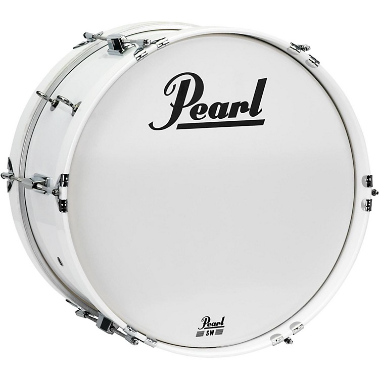 PearlJunior Marching Bass Drum and Carrier16 x 8 in.