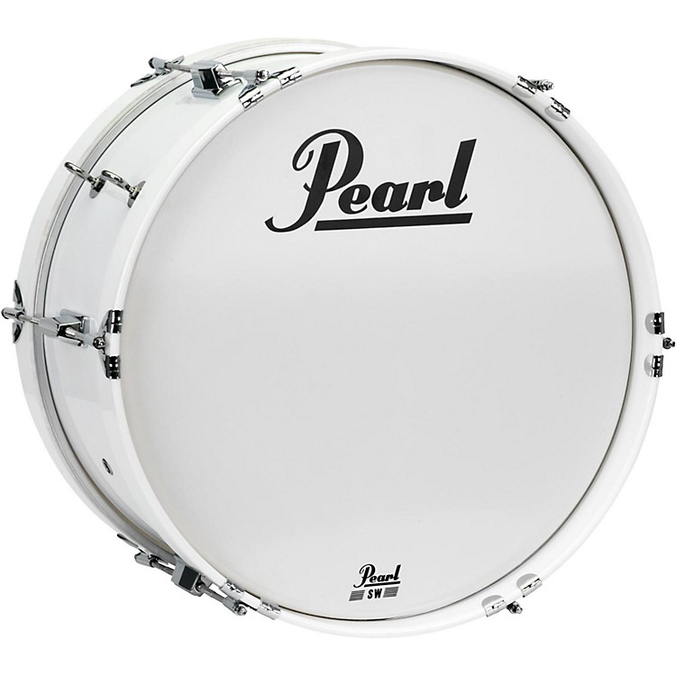 PearlJunior Marching Bass Drum and Carrier18 x 8 in.