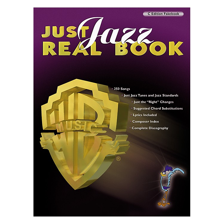 Hal Leonard Just Jazz Real Book - C Edition Fakebook