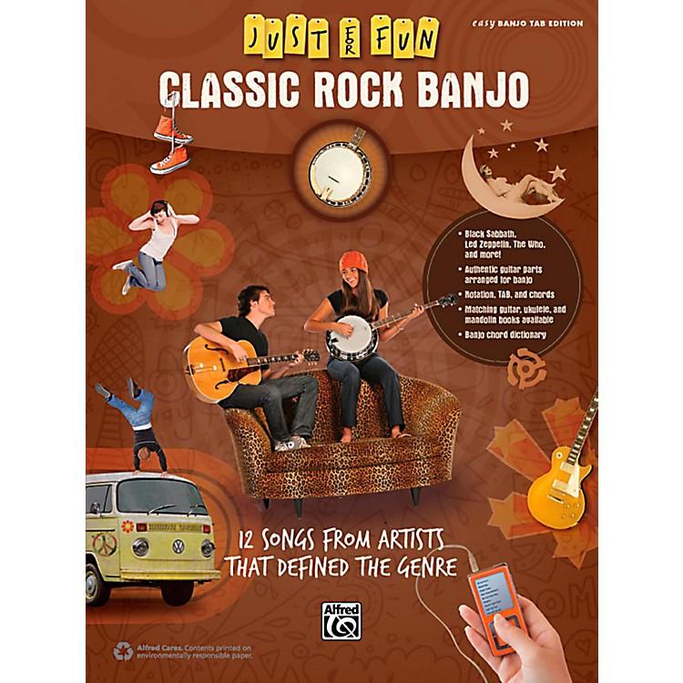 AlfredJust for Fun Classic Rock Banjo Book