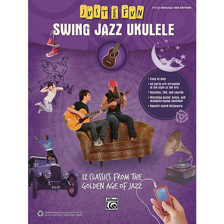 AlfredJust for Fun Swing Jazz Ukulele Book