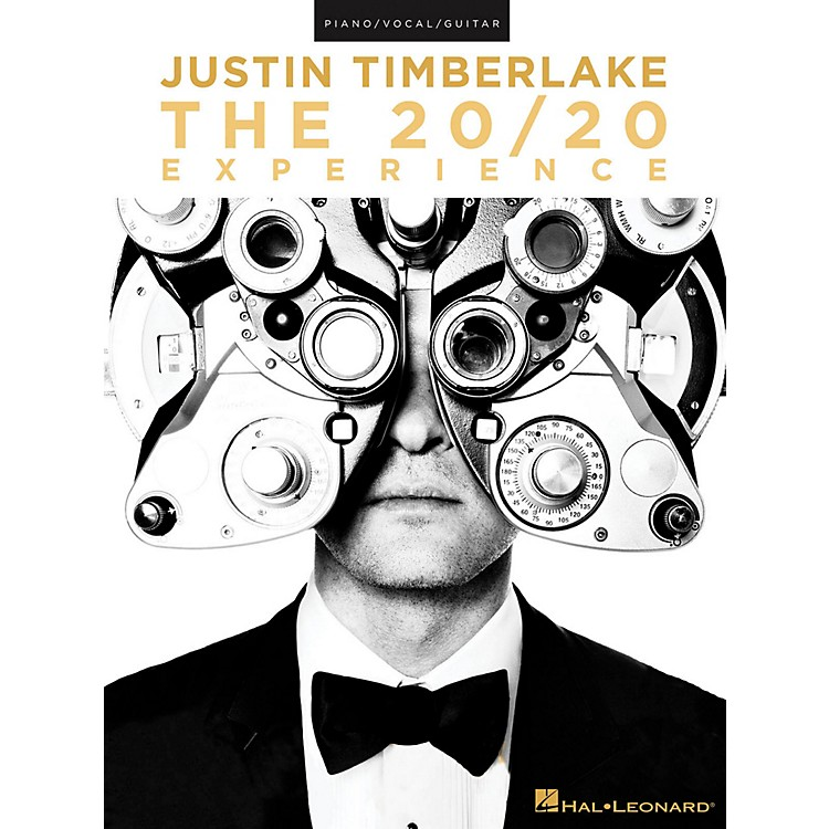 Hal LeonardJustin Timberlake - The 20/20 Experience for Piano/Vocal/Guitar