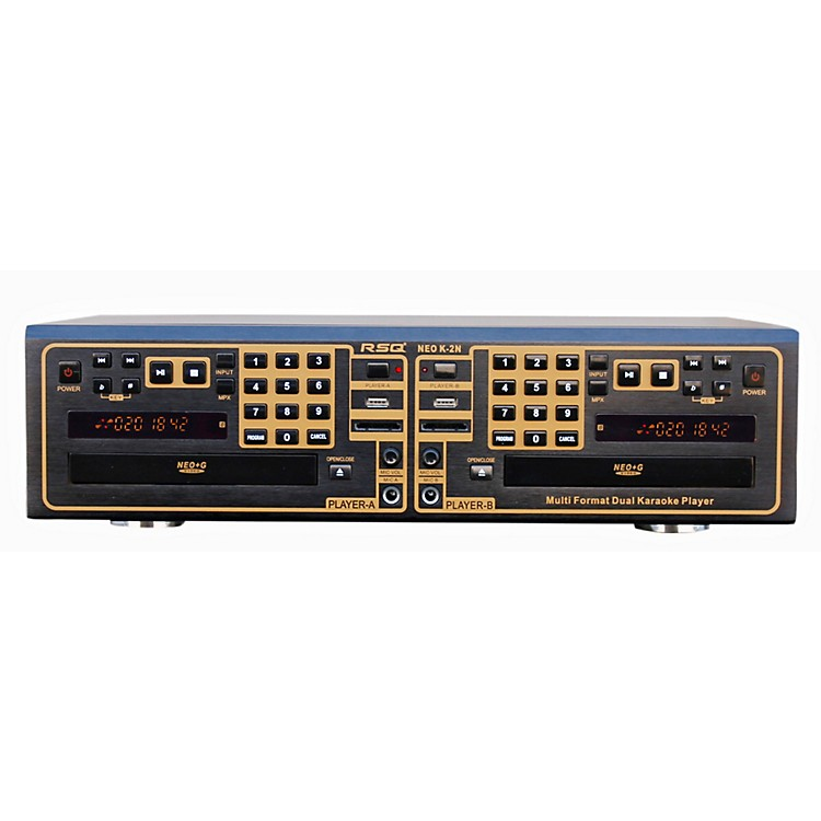 RSQ K-2N Dual Tray Karaoke Player