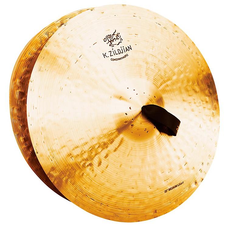 ZildjianK Constantinople Medium Light Crash Cymbal Pair20 in.