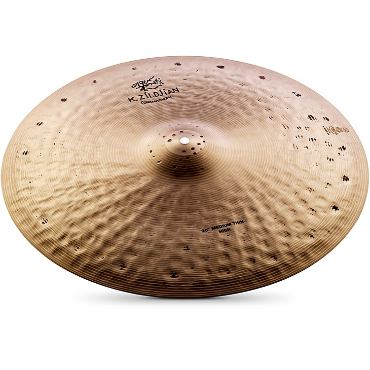 Zildjian K Constantinople Medium Thin High Ride Cymbal  20 Inch
