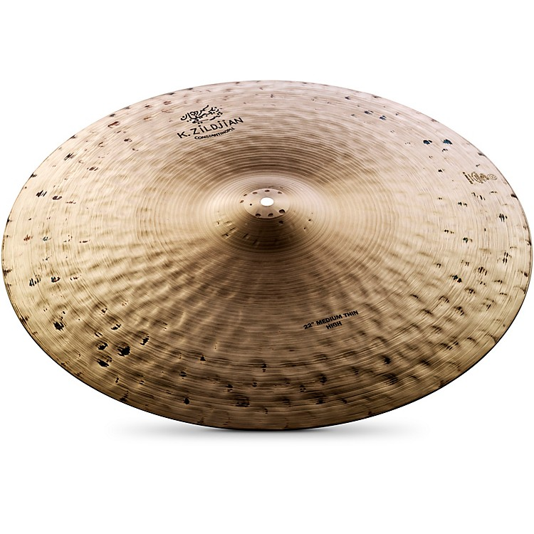 Zildjian K Constantinople Medium Thin Ride Cymbal  22 Inch