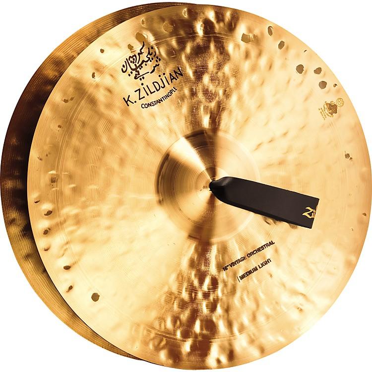 ZildjianK Constantinople Vintage Medium Light Crash Cymbal Pair16 in.