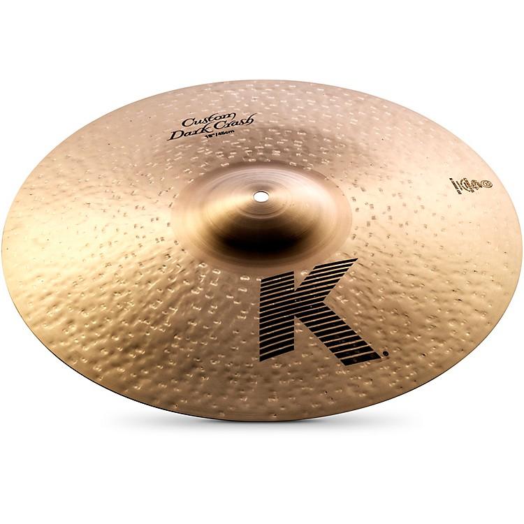 ZildjianK Custom Dark Crash Cymbal
