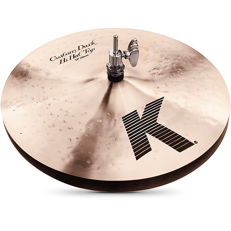 Zildjian K Custom Dark Hi-Hat Cymbal Pair  13 in.