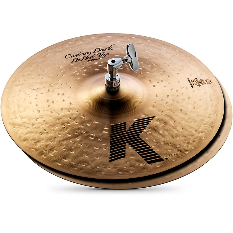 Zildjian K Custom Dark Hi-Hat Cymbal Pair  14 in.