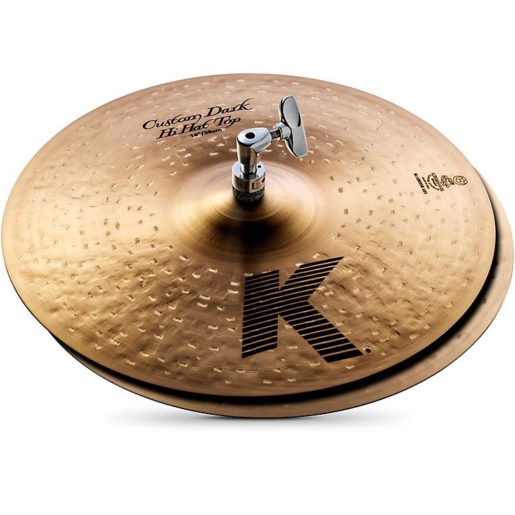 ZildjianK Custom Dark Hi-Hat Cymbal Pair14 in.