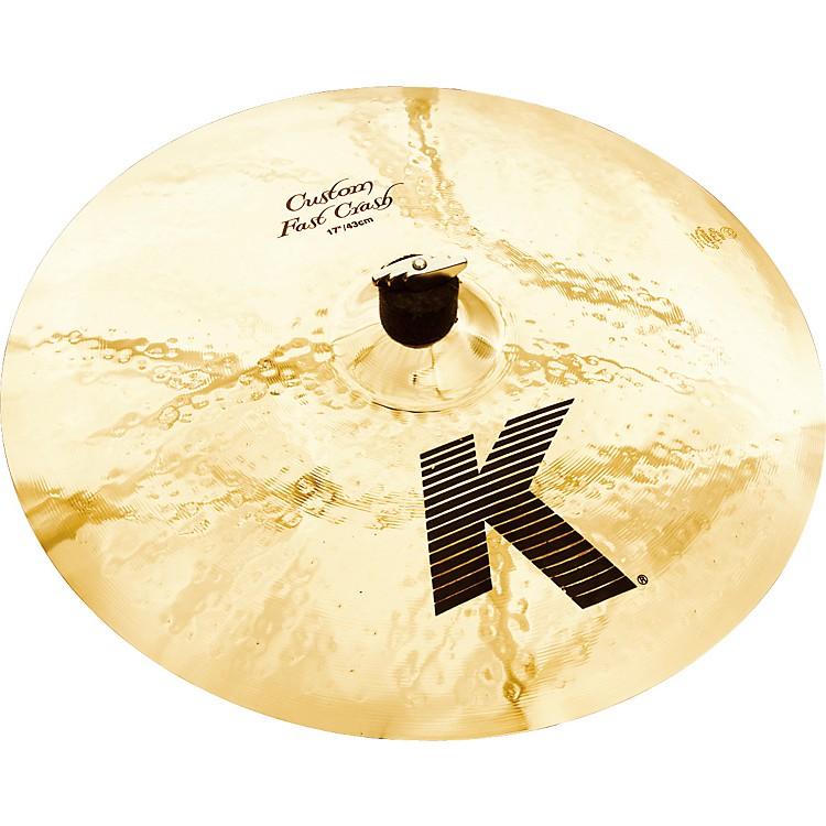 ZildjianK Custom Fast Crash Cymbal17 in.