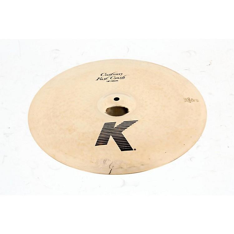 ZildjianK Custom Fast Crash CymbalRegular888365115382