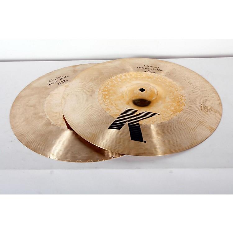 ZildjianK Custom Hybrid Hi-Hats Pair14-1/4888365907451