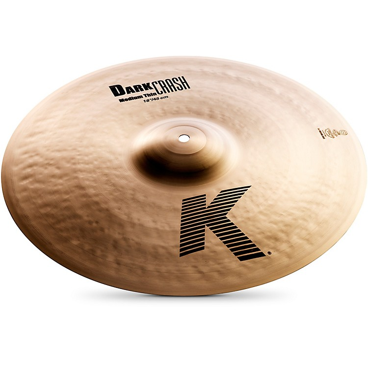 ZildjianK Dark Medium-Thin Crash Cymbal18 in.
