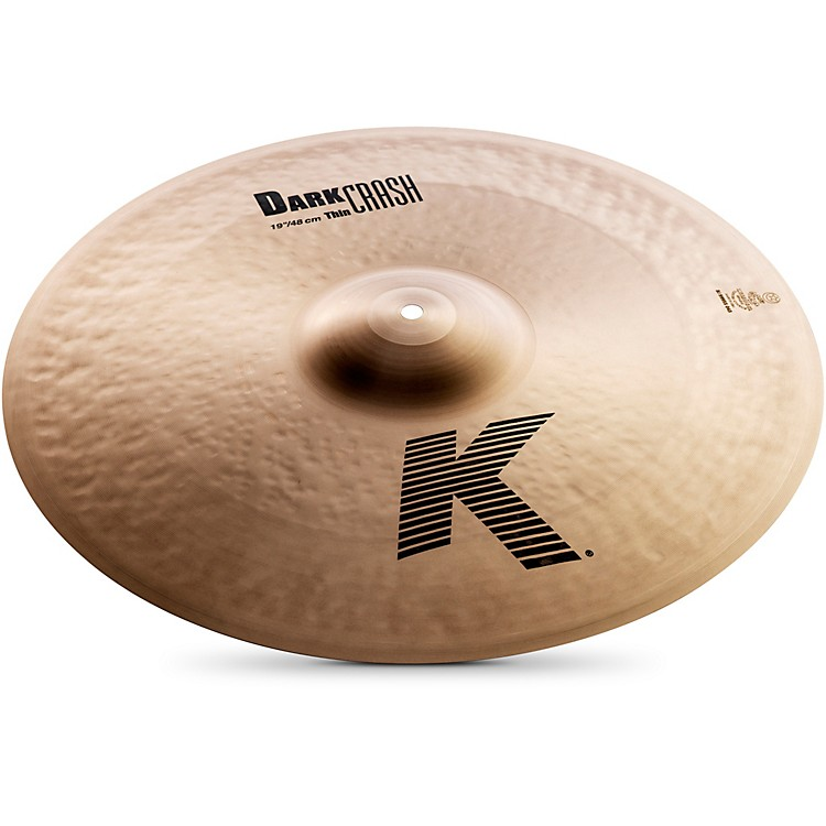 ZildjianK Dark Thin Crash Cymbal19 in.